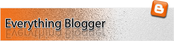 Everything Blogger header logo
