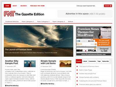 PNT – Gazette Edition thumbnail