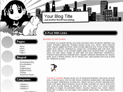 AniGirl WordPress theme thumbnail