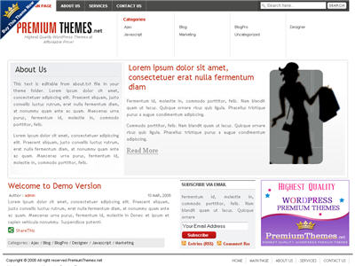 Business WordPress theme thumbnail