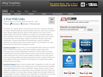 LightBreaker WordPress theme thumbnail