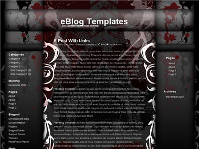 Rockstar Theme WordPress theme thumbnail