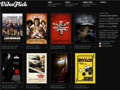 Video Flick WordPress theme thumbnail