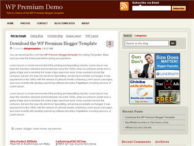 Free blogger templates premium wordpress themes eblog templates wp premium maxwellsz