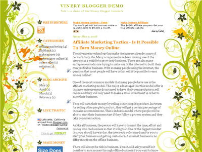 Vinery WordPress theme thumbnail